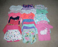 LOT OF 19 MIXED ITEMS GIRLS SIZE 18 MONTHS
