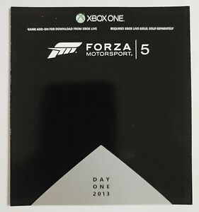 Forza Motorsport 5 Day One Car Pack DLC