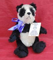 AMERICAN TEDDY BEAR ARTIST GUILD MOHAIR LE #11 PANDA ARTIST CHRISTINE