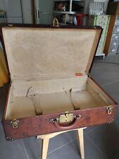 Valise Louis vuitton hermes piqures cellier antiquités vintage malle sac