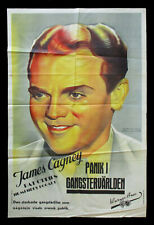 ANGELS WITH DIRTY FACES original movie poster JAMES CAGNEY stone litho