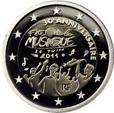 Francia 2 euro Fête de la Musique-Festa della Musica moneta commemorativa 2011 PP