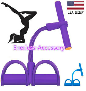Multifunction Tension Rope Sit-ups Yoga Tensioner Exercise Pull Resistance Band