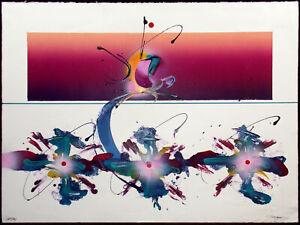 David Grojean Questions Mixed Media Signed Original Abstract Art Make Offer!
