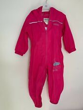 Regatta girls puddle suit age 12-18 months, PINK PUDDLESUIT, GIRLS ALL IN 1 COAT
