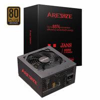 ARESZE Semi Modular 650W Gaming Computer Power Supply 80 Plus Bronze ATX PC PSU