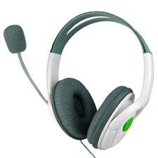 Grande Auriculares Micrófono Microsoft Xbox 360 Live Juegos Online 2 Oreja