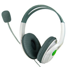 Large Earphones Headset Microphone Microsoft Xbox 360 Live Online Gaming 2 Ear
