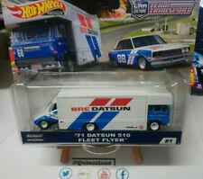 Hot Wheels Team Transport '71 Datsun 510 Fleet Flyer #9