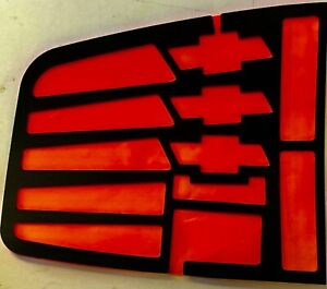 NEW‼️94-03 Chevrolet S-10 BowTies Tail Light Graphics Black Xtreme Xcessories