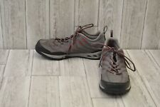 Columbia Men's Drainmaker Fly Trail Shoe - Grey/Red - Size 11.5