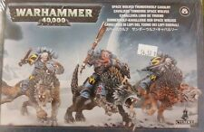 Warhammer 40K SPACE WOLVES THUNDERWOLF CAVALRY Space Wolf Cyber Wolf Riders