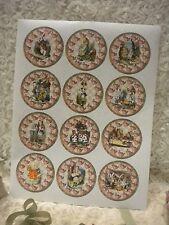 Alice in Wonderland Labels / Stickers (12)