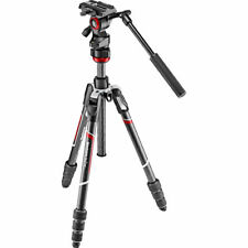 Manfrotto Befree Live Carbon Fiber Video Twist Leg Locks Tripod # MVKBFRTC-LIVE