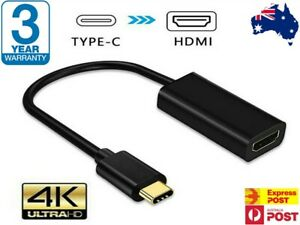 4K Type C USB-C to HDMI Adapter  USB C 3.1 Cable 30Hz For MacBook ChromeBook AUS