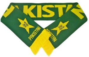 FREE POSTAGE - Pakistan Scarf - Pakistani Cricket Sports Scarves & Memorabilia