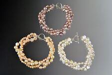 Pearl S/S Toggle Bracelet Super Sale- Bess Heitner Freshwater