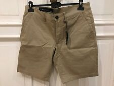 A|X Armani Exchange Men's Classic Chino Shorts Sand Beige Bermuda Hose NEU