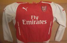 Arsenal London  Sanchez 17 Football Shirt Puma M Longsleeve