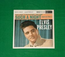 "ELVIS PRESLEY Such A Night ROCK N ROLL SOUNDTRACK Mono 7"" EP 1960"