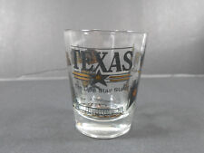 VINTAGE TEXAS THE LONE STAR STATE SOUVENIR SHOT-GLASS DECOR BAR-WARE