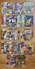 Burger King Adventures Magazine 90's 42 Different Kids Happy Meal As Seen RARE
