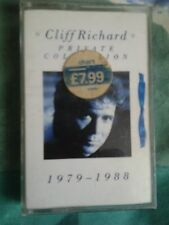 CLIFF RICHARD PRIVATE COLLECTION CASSETTE