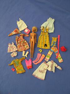Vintage Lot: Francie Malibu TNT Doll Clothing Barbie Cousin Mattel 1960~1966's
