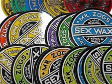 "2x Genuine SexWax 3"" Stickers 2 Pack NEW Sex Wax Surf surfing van car"
