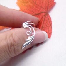 1 Stück Tribal Avantgarde Design Ohrklemme Ohrring Clip 925 Sterling Silber neu