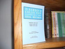 Barbour Connecticut Town Records Danbury Darien Derby