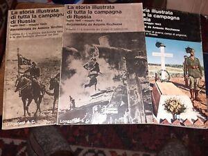 La Storia di tutta la Campagna di Russia A.Ricchezza-Longanesi-volumi 1-2-4