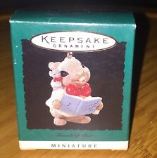 Hallmark Miniature Keepsake Ornament Friendship Duet Special Friends 1995 Mib