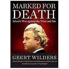 Marked for Death by Geert Wilders (2012, CD, Unabridged)