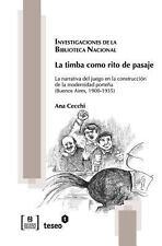 La Timba Como Rito de Pasaje : La Narrativa Del Juego en la Construcci�n de...