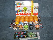 STAR WARS KINDER SURPRISE TWISTHEADS FULL SET 10 + PAPERS + PODS 2012