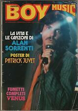 CORRIER BOY MUSIC 1979 alan sorrenti ritchie family  patrick juvet + poster