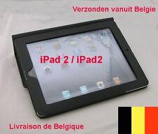 HOUSSE POCHETTE Etui Cuir pour Apple iPad 4. ipad 3, iPad 2. Noir