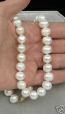 """16"""" 14K Pearl Necklace Natural 10mm"""