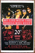 MY LIFE WITH THRILL KILL KULT 2008 Gig POSTER Portland Oregon (Vers. 1) Concert