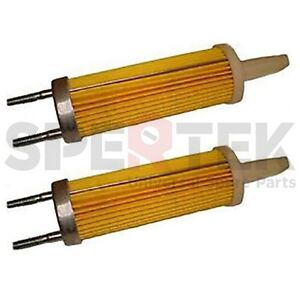 2 x Fuel Filter For Yanmar Engine L90 L100 186F 10HP Rep 114650 55120 Tracking #