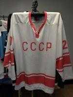 TRETYAK #20- CCCP Lutch Pro Hockey Jersey