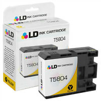 LD Remanufactured Epson T5804 / T580400 Yellow Ink Cartridge