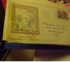 39 First Day Cover US Stamp Envelopes Commemoratives, Postcards ODD LOT