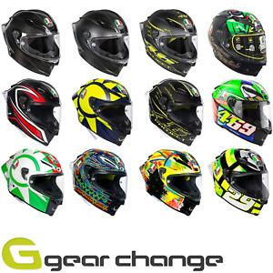 AGV Pista GP-R Carbon Fibre Motorcycle Motorbike Race Helmets
