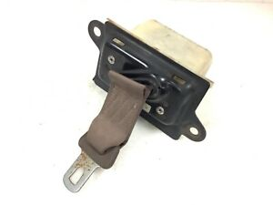 90-91 Accord Right Side Front Lower Lap Safety Seat Belt Urban Brown Used OEM