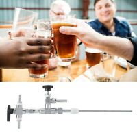 304 Stainless Steel Counter Pressure Beer Bottle Filler Brew CO2 Brewing Kit