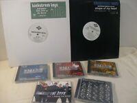 BACKSTREET BOYS VINYL & CD LOT - SEALED CD'S & CD SINGLE