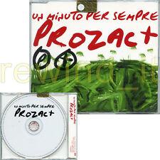 """PROZAC+ """"UN MINUTO PER SEMPRE"""" RARO CDsingolo PROMO"""