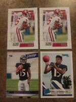 Marquise Brown(HOLLYWOOD)RC Lot Of 4-2 Score 1 Prestige 1 Donruss EXCELLENT COND